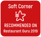 Soft Corner excellence award from Restaurant Guru